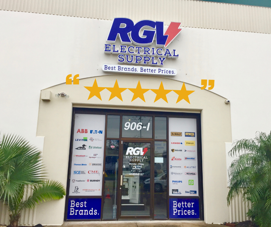 Excellent Service at RGV Electrical Supply